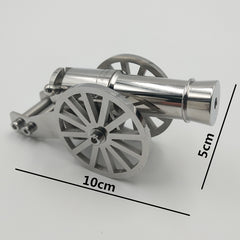 Stainless Steel Miniature Napoleon Cannon