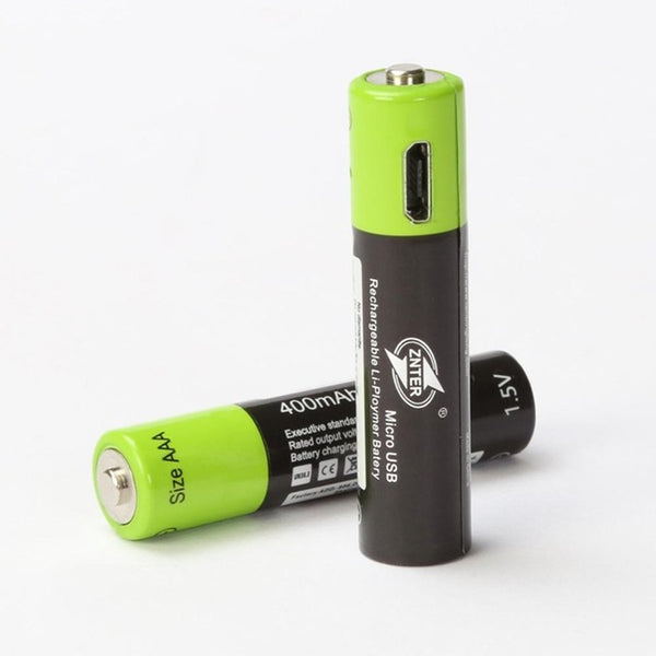 USB Rechargeable AAA Battery 400mAh AAA 1.5V