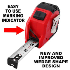 Self-Marking Precision Measuring Tape