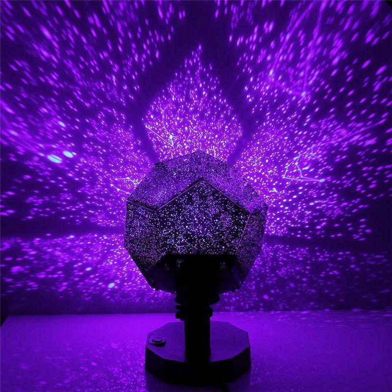 Romantic 3D Constellation Night Light Lamp