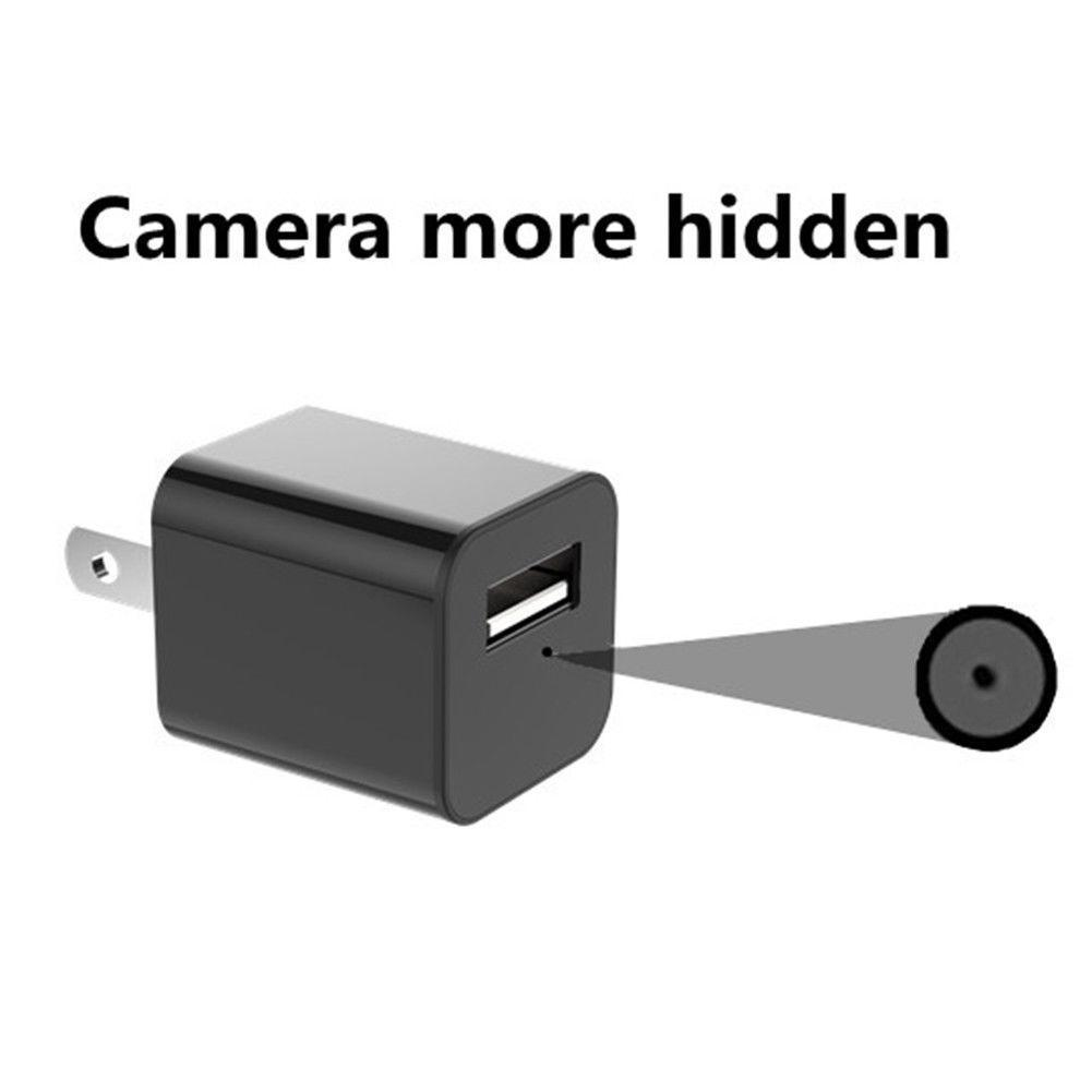 1080P Mini USB Wall Charger Spy Camera