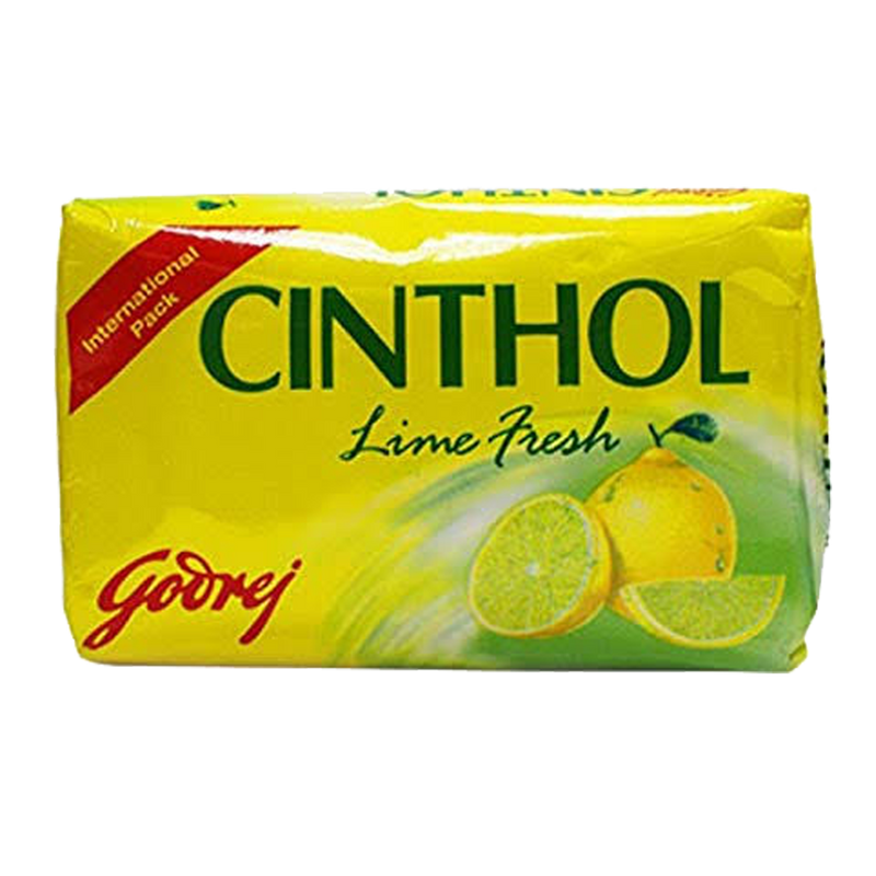 Cinthol Lemon Bath Soap 6 Pack