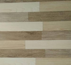 Dark Brown Wood Effect Tiles 60×60 mn, Pack of 4Pcs
