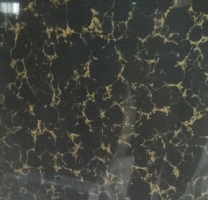 Elegance Black Gold Pattern Gloss Tiles 60×60 mn, Pack of 4Pcs14