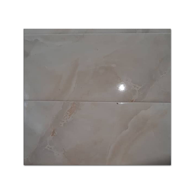 Cappuccino Gloss Marble effect Ceramic Floor tile 20*40 12 pieces per box