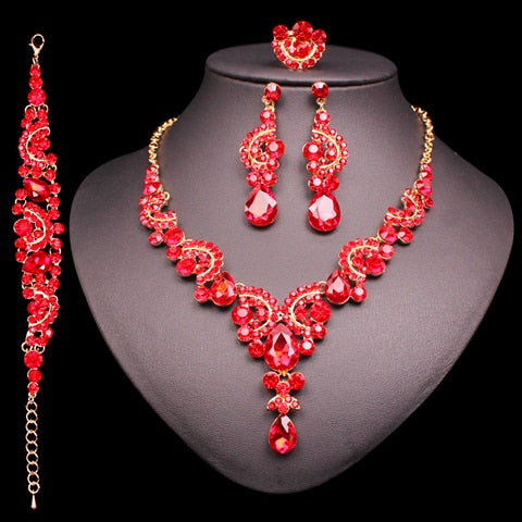 Indian Bridal Earrings Necklace Set