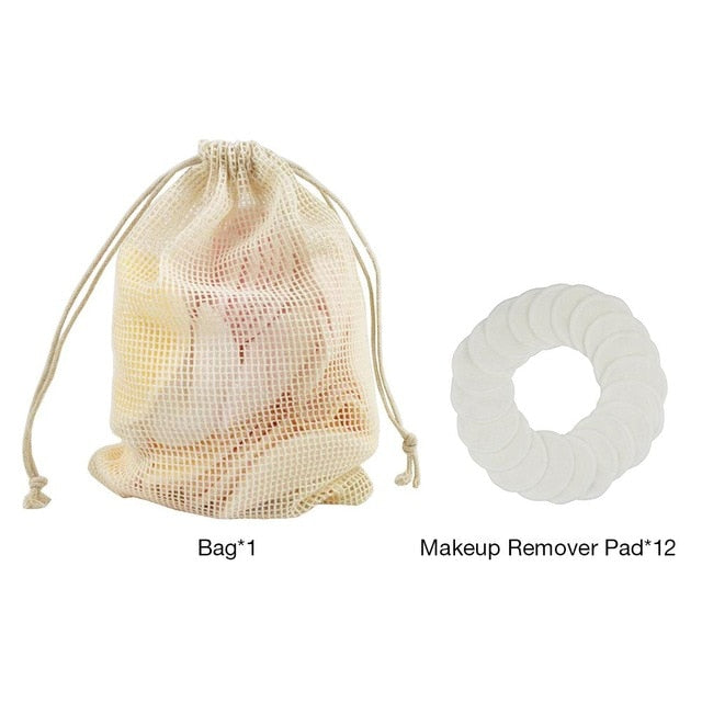 Makeup Remover & Skin Cleaning Reusable Cotton Pads