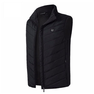 Men Electric Heating Sleeveless Vest Jacket
