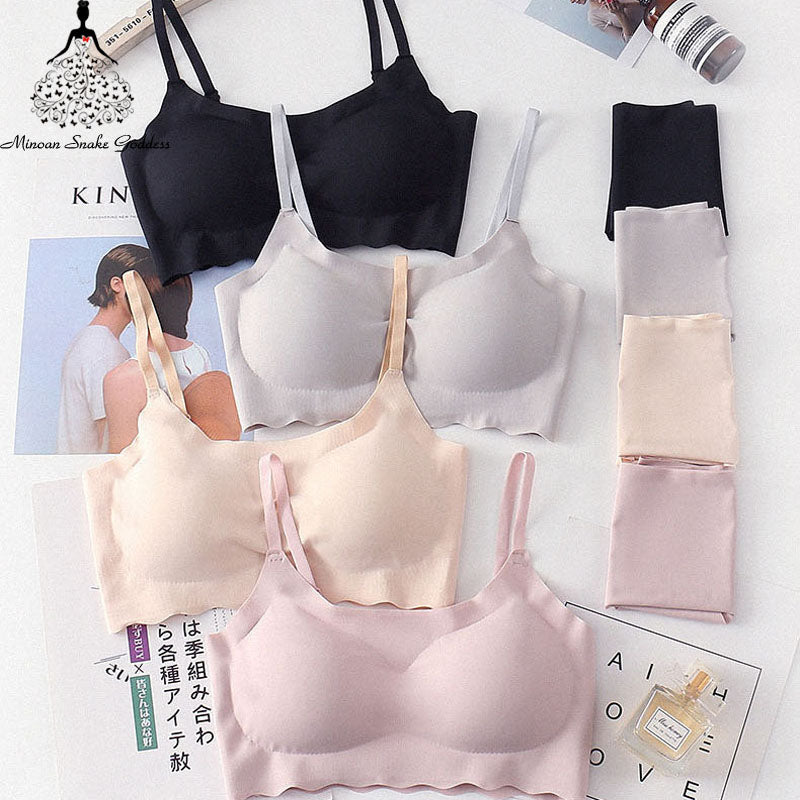 Seamless Bra Set