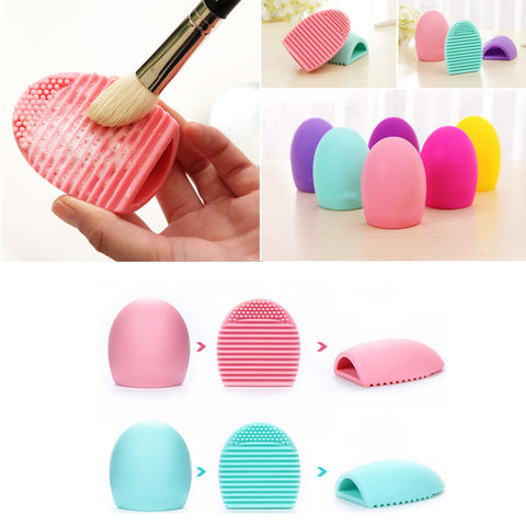 Silicone Makeup Cleaning Pad Mat Brush