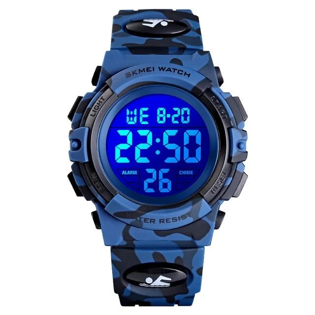 Waterproof Electronic Wristwatch
