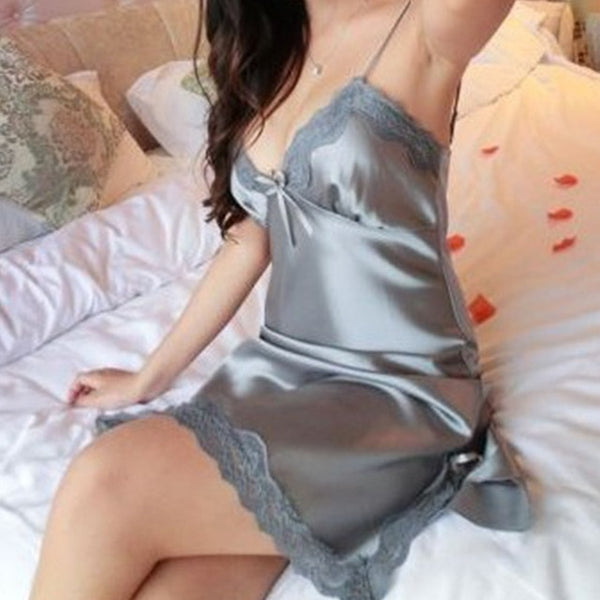 Summer Lace Silk Sleepwear
