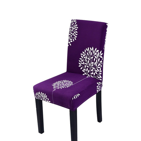 Solid Color Chair Spandex Slipcovers