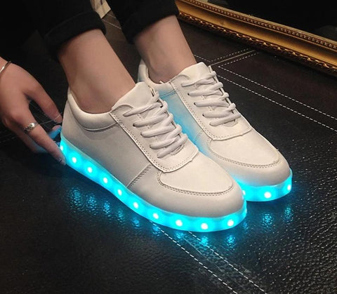 Unisex Glowing LED Shoes