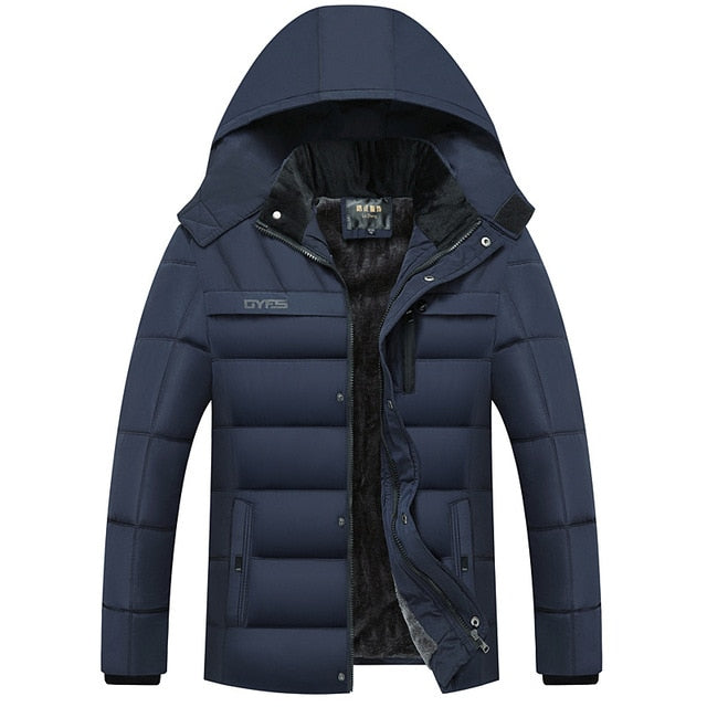 Hot Fashion Hooded Winter Jacket Men