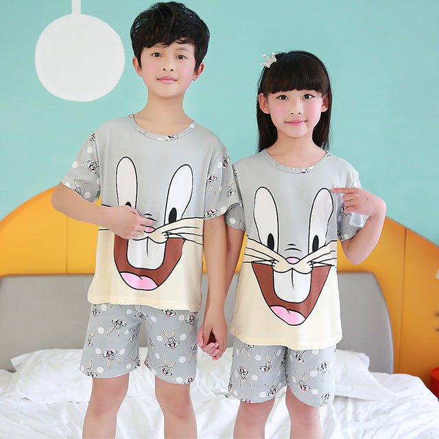 Cartoon long Sleeve baby Sleepwear
