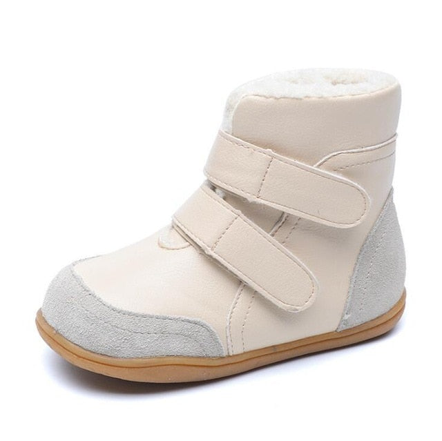 Goat Fur Baby Boy Winter Snow Boots