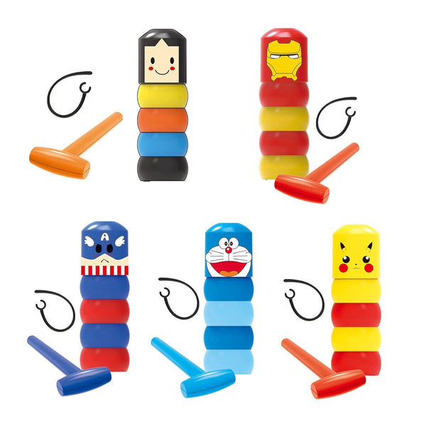 Unbreakable Cartoon Characters Magic Toy