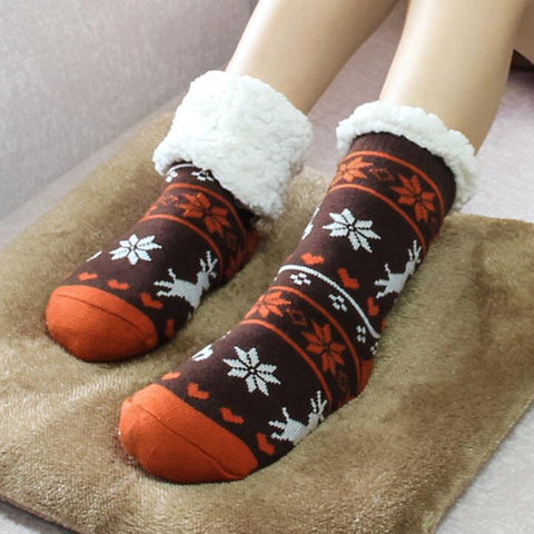 WINTER FLEECE INDOOR SOCKS