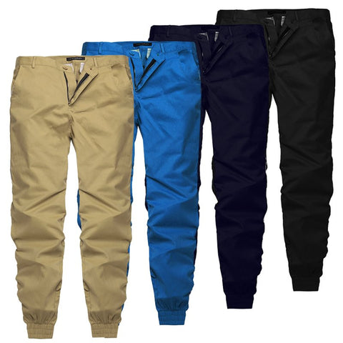 Men Casual Trousers Joggers Slim Fit Clothing