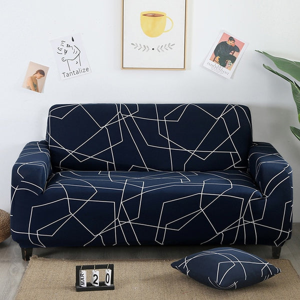 Spandex Cheap Sectional Couch Cover