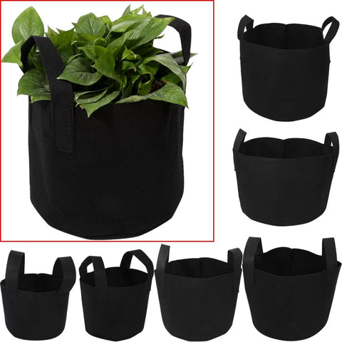 1/2/3/5/7/10 Gallon Black Garden Plant Grow Bag