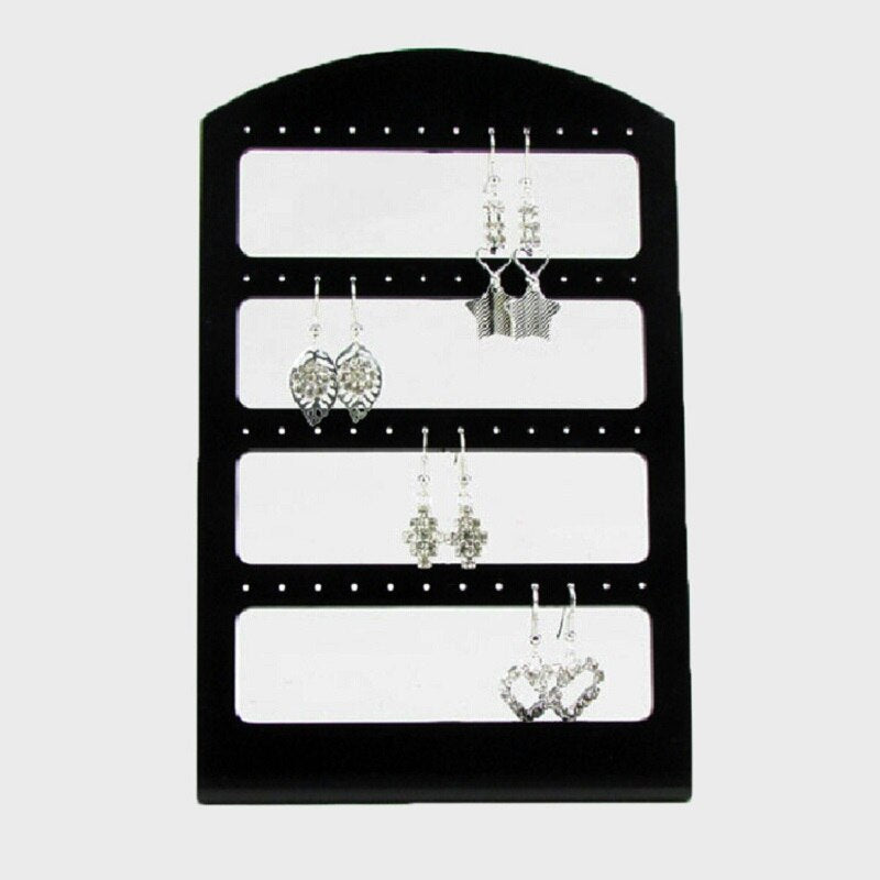 Stand Rack Plastic Show Organizer For Earrings