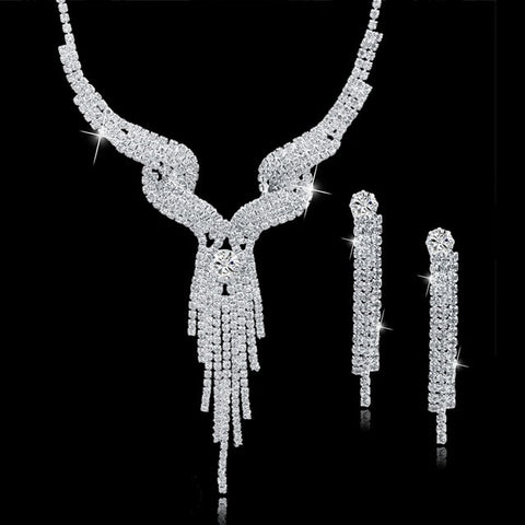Wedding Crystal Bridal Jewellery Sets