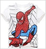 Spiderman Cotton Short-Sleeved T-shirt