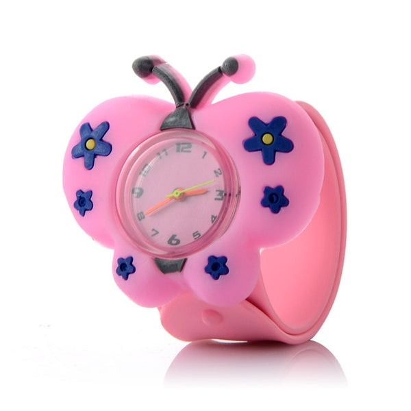 Cartoon 3D Animal Kids Watches