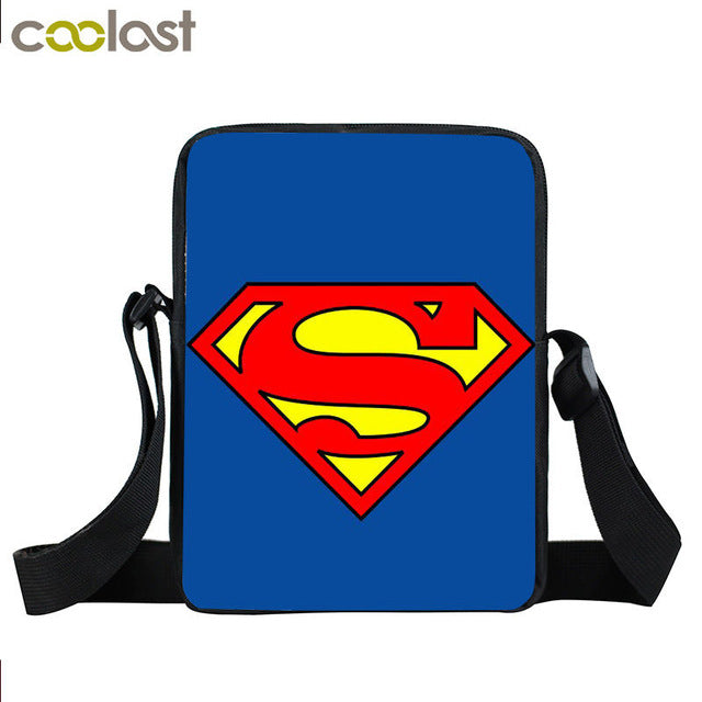 Super Hero Comic Crossbody Bag