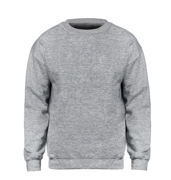 Men Hoodie Sweatshirts Winter Autumn Fleece Gray