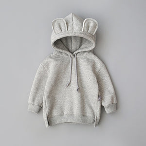 Boys Girls Clothes Cotton Hooded Sweatshirt