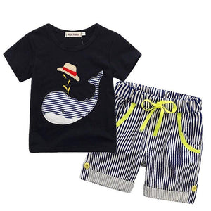 Children's Sets T-Shirt Denim Pants