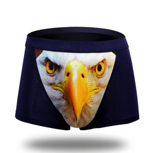 Men's Underwear Boxers Brand Modal Cartoon Boxer