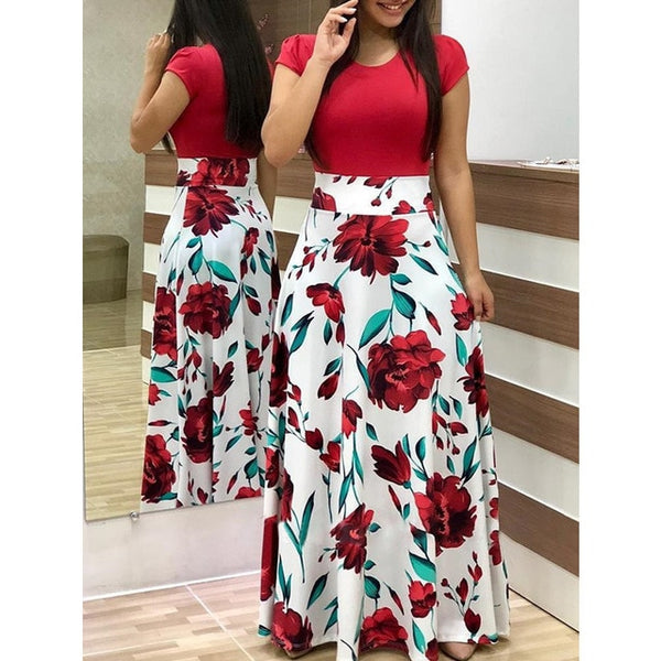 Casual Women Maxi Long Dresses Beach Clothes
