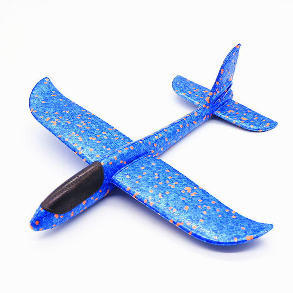 Hand Throwing Plastic Airplane Toy
