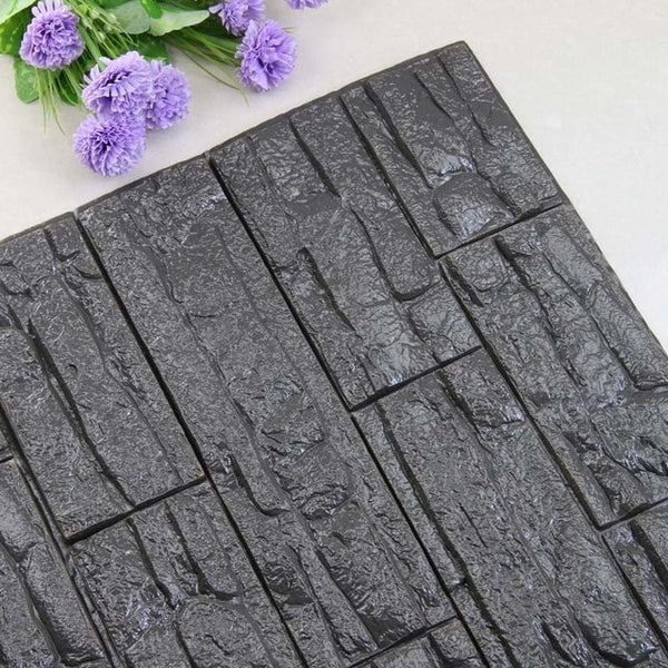 3D Brick PE Foam Wall Stickers