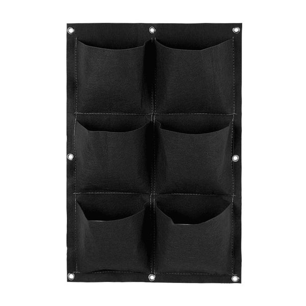 Wall Mount Hanging Planting Vertical Growing Bags