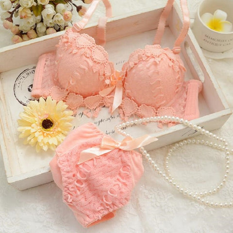 sexy lace Japanese lingerie set