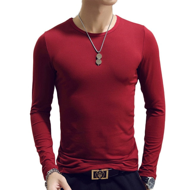 Long Sleeve Morality Men's T-shirt