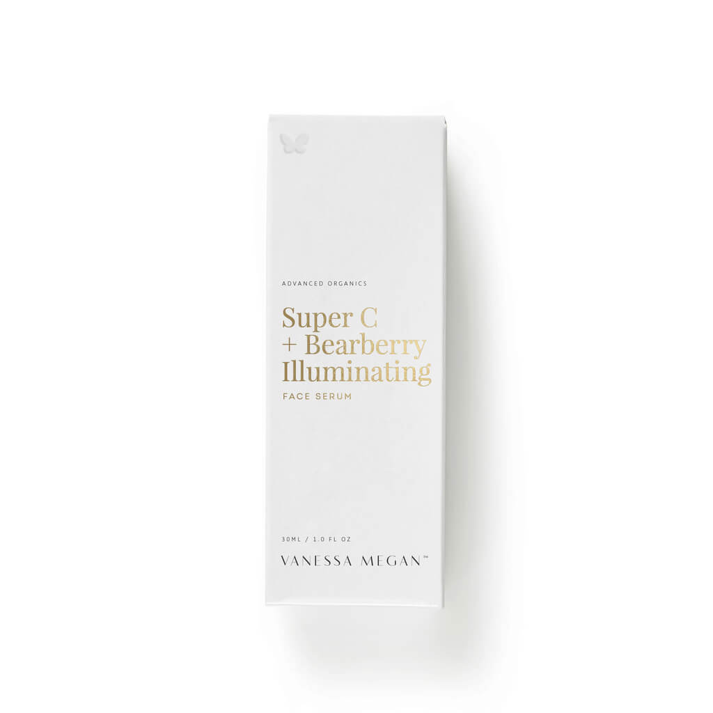 Vanessa Megan Super C + Bearberry Illuminating Face Serum Box - Natural & Organic Skin Care