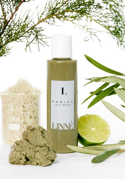 Linne Botanicals PURIFY Face Wash Ingredients - Natural & Organic Skin Care
