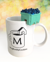 "Load image into Gallery viewer, ""Blueberry Pint"" Solo Mug Buddy Topper"