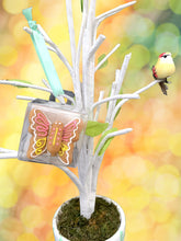 "Load image into Gallery viewer, ""Whimsical Butterfly"" Solo Mug Buddy Topper"