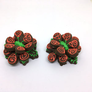 """Bouquet of Roses"" Mug Buddy Topper Duo"
