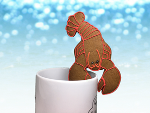 """Maine Lobster"" Solo Mug Buddy Topper"