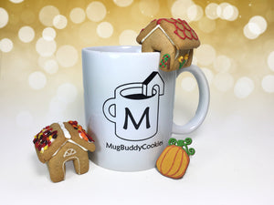 """Covered Bridge"" Mug Buddy Topper Duo"
