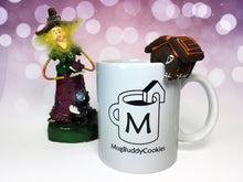 "Load image into Gallery viewer, ""Haunted House"" Solo Mug Buddy Topper"