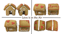 "Load image into Gallery viewer, ""Love is in the Air"" Mug Buddy Topper Duo"